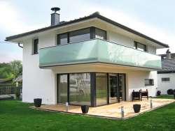 balkongel nder alu glas. Black Bedroom Furniture Sets. Home Design Ideas