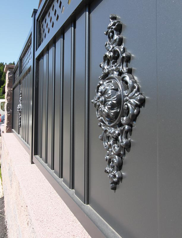 aluminium zaune sichtschutz bauhaus sichtschutz aluminium. Black Bedroom Furniture Sets. Home Design Ideas