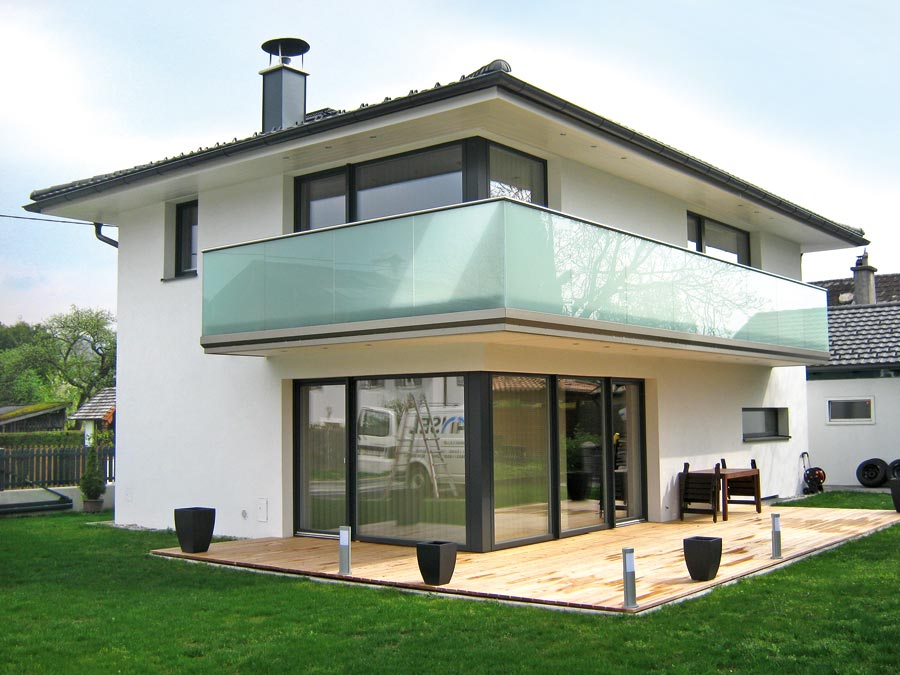 balkone gel nder in edelstahl glas. Black Bedroom Furniture Sets. Home Design Ideas