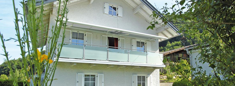 Balkone Gelander In Edelstahl Glas
